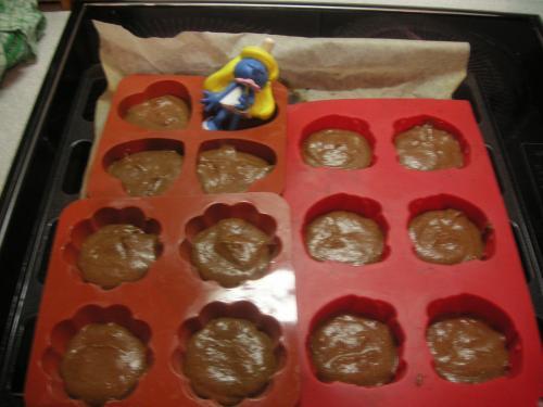 Petit gateau chocolat pour moule silicone